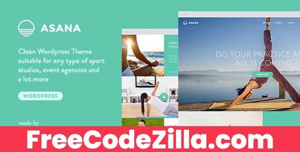 Asana - Sport and Yoga WordPress Theme Free Download