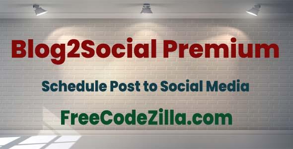 Blog2Social Premium Free Download