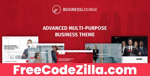 Business Lounge WordPress Theme Free Download