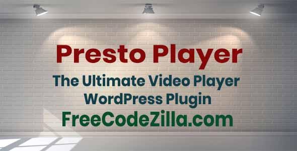 Presto Player – Video Player WordPress Plugin Free Download