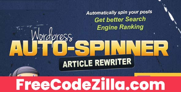 WordPress Auto Spinner - Articles Rewriter Free Download