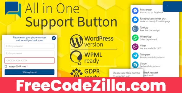 All in One Support Button Free Download
