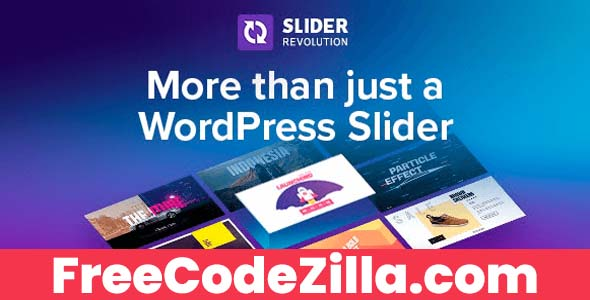 Slider Revolution Nulled All Templates Free Download