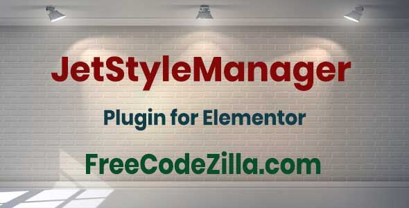 JetStyleManager for Elementor Free Download