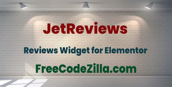 JetReviews – Reviews Widget for Elementor Page Builder Free Download