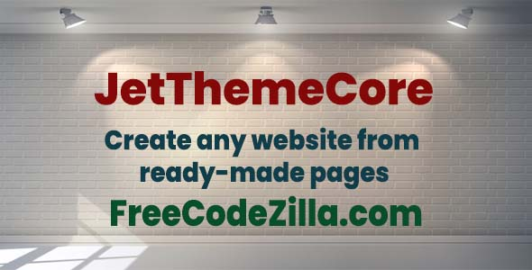 JetThemeCore For Elementor Nulled free download