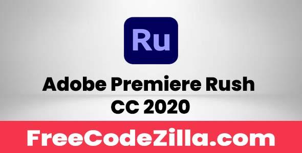 Adobe Premiere Rush CC 2020 Free Download
