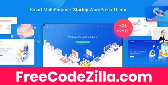 Atomlab - Startup Landing Page WordPress Theme Free Download
