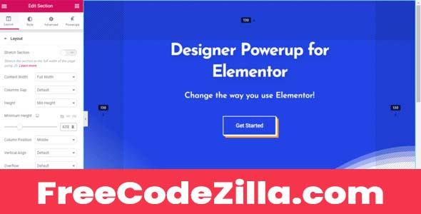 Designer Powerup for Elementor Free Download