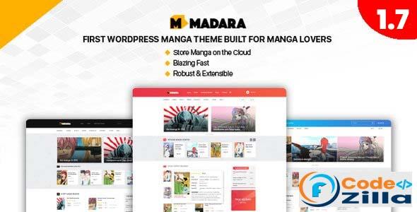 Madara - WordPress Theme for Manga Nulled
