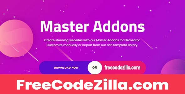 Master Addons Pro for Elementor Free Download