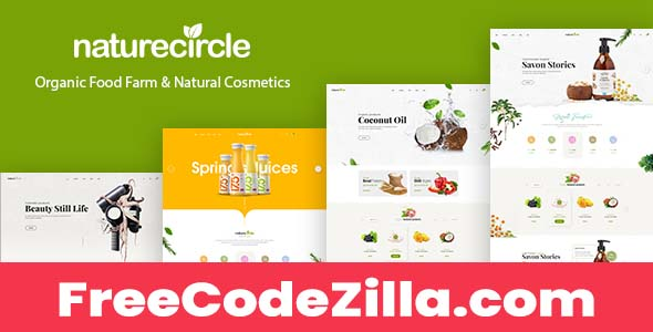 NatureCircle Nulled – Organic Theme for WooCommerce