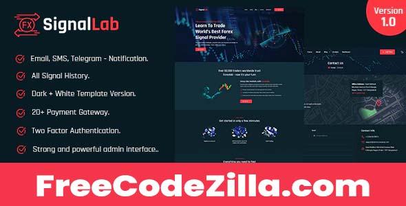 SignalLab - Forex And Crypto Trading Signal Platform