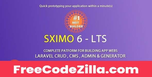 Sximo Nulled - Laravel Multi Purpose Application CRUD