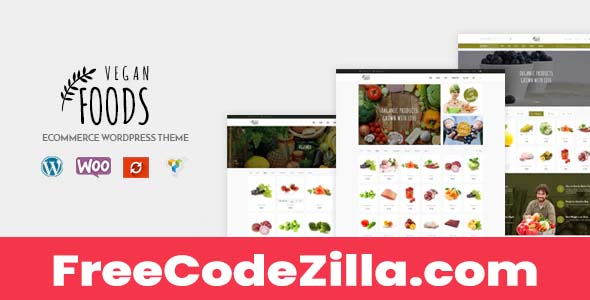 Vegan Food – Organic Store Woocommerce WordPress Theme