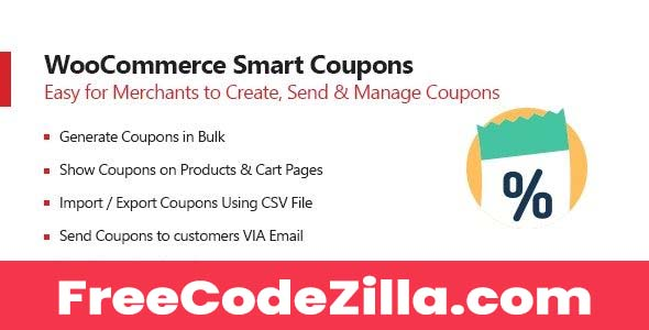 Woocommerce Smart Coupons Nulled Free Download