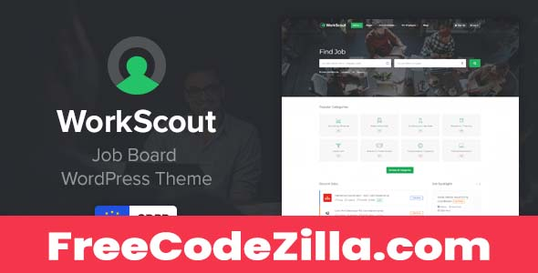 WorkScout Nulled – Job Board WordPress Theme