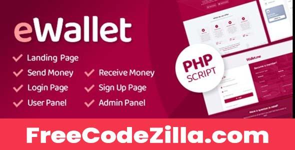 eWallet - PHP Script