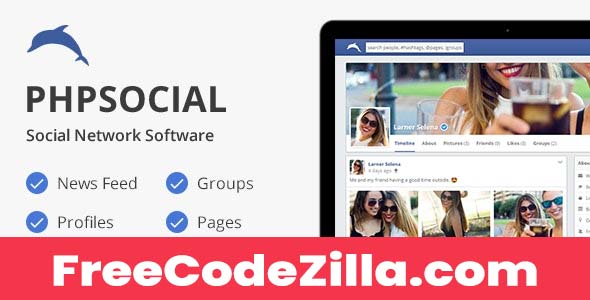 phpSocial Nulled Scripts free download