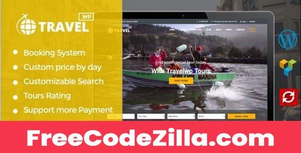 TravelWP Nulled - Tour & Travel WordPress Theme