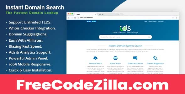 Download Instant Domain Search Script Nulled