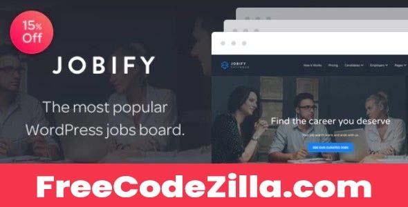 Jobify - Job Board WordPress Theme Free Download