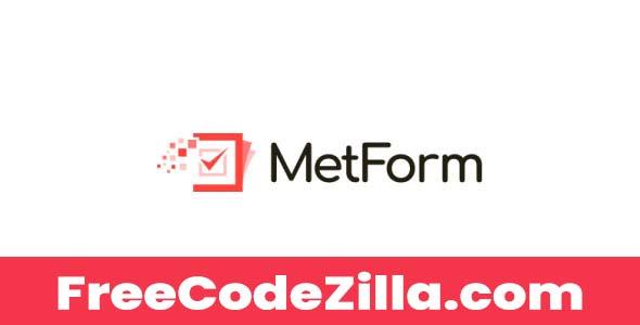 MetForm Pro Nulled – WordPress Form Builder For Elementor