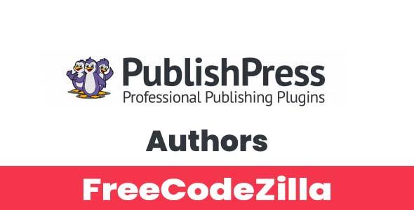 PublishPress Authors Pro Nulled v3.14.9