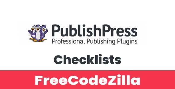 PublishPress Checklists Pro Nulled v2.6.2