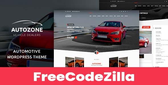 Autozone v5.3.10 Nulled – Automotive Car Dealer WordPress Theme